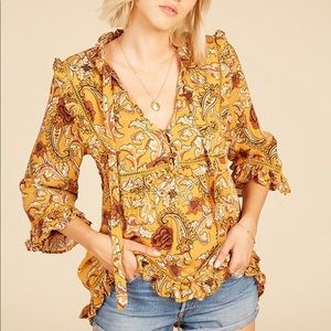 Spell & the Gypsy Collective Etienne Blouse.